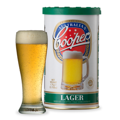 Coopers Lager Extract Beer Kit