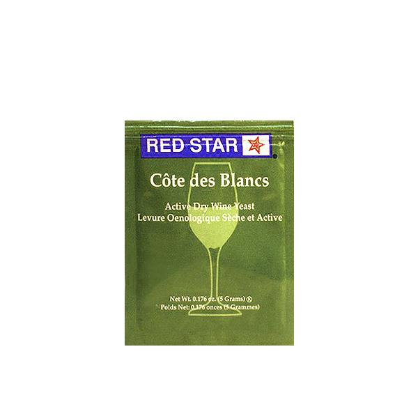 Red Star Cote Des Blanc Dry Wine Yeast