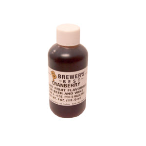 Cranberry Flavoring Extract - 4oz