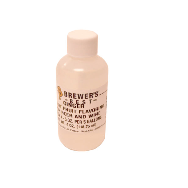 Ginger Flavoring Extract - 4oz