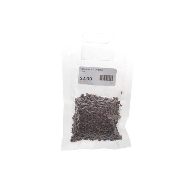 Cocoa Nibs - Organic 1 oz