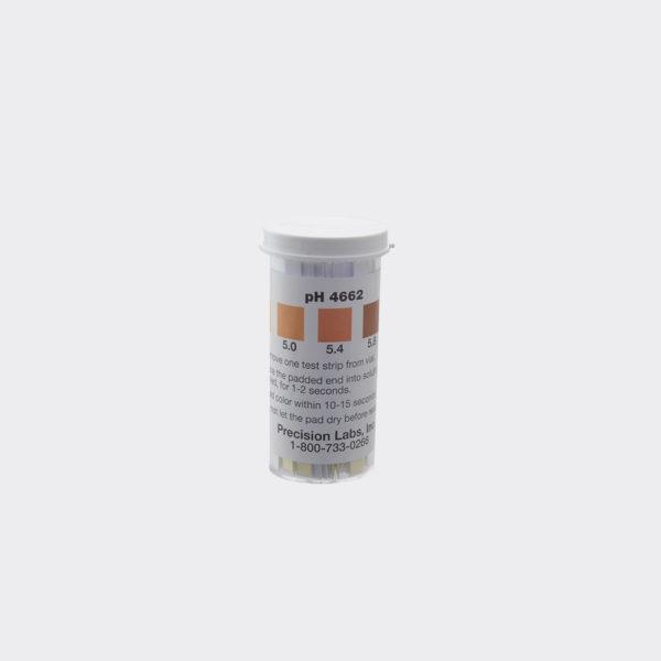 pH Papers - Beer Range (100/Vial)