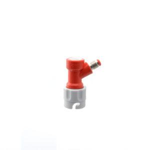 Pin Lock Gas Disconnect - Threaded 1/4 FFL