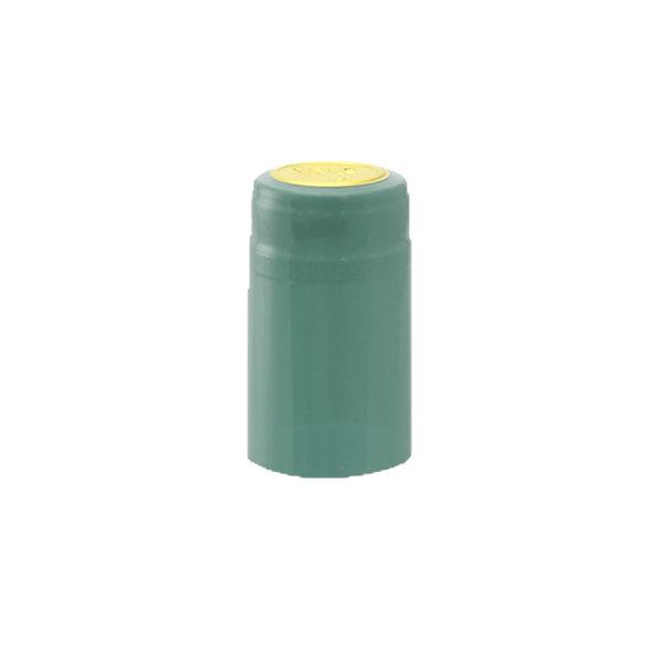 PVC Shrink Caps - Metallic Light Blue 30/pack