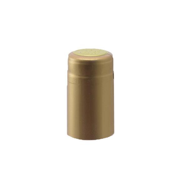 PVC Shrink Caps - Gold