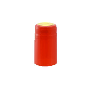 PVC Shrink Caps - Red 30/pack