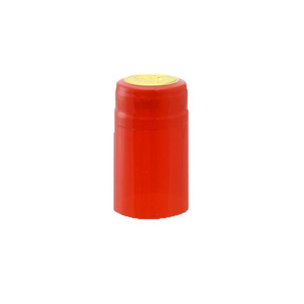 PVC Shrink Caps - Red 30/pack