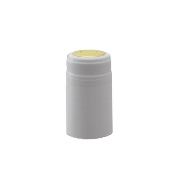 PVC Shrink Caps - White