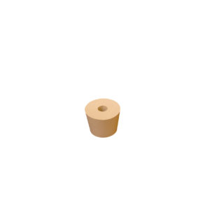 #7 Rubber Stopper - Drilled
