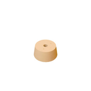 #8 Rubber Stopper Drilled Rubber Bung