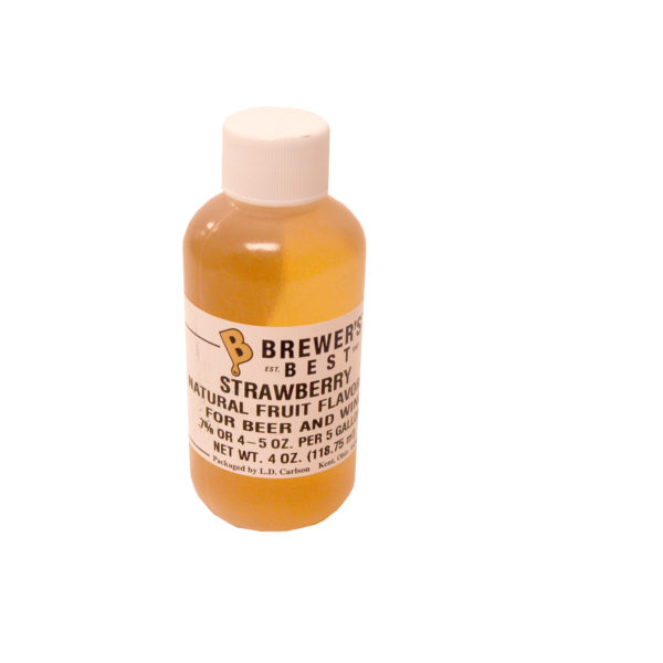 Strawberry Flavoring Extract - 4oz