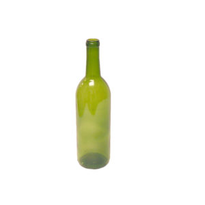 750 ML GREEN OPTIMA BORDEAUX wine bottles