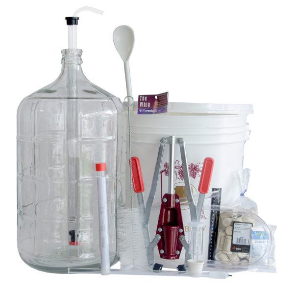 Deluxe Wine Making Kit 6 Gallon