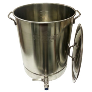 16 Gallon Stainless Kettle with Spigot - Bayou Classic