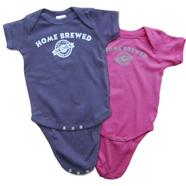 """Infant """"home brewed"""" Onesie"""