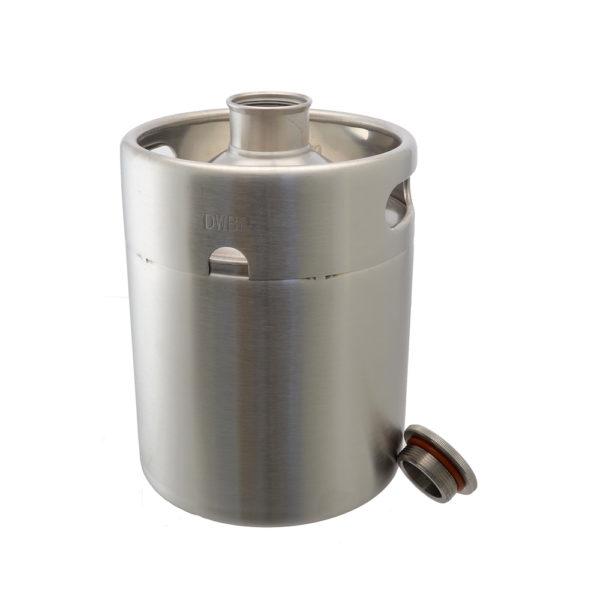 Mini-Keg Growler - Stainless 64 oz