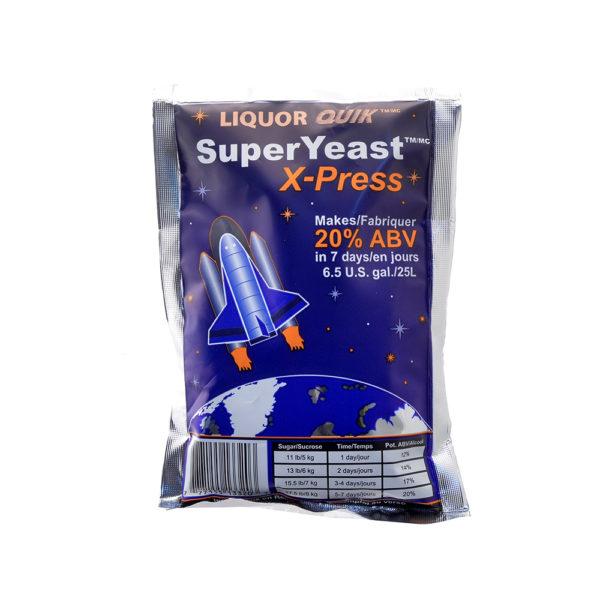 Liquor Quick High Alcohol Superyeast X-press