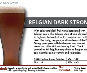 SCBS Belgian Strong Dark Kit