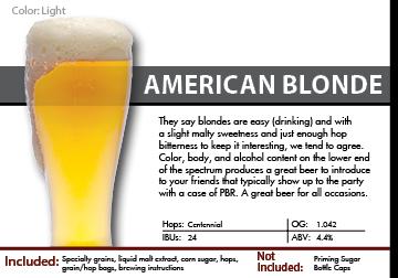SCBS Blonde Ale Recipe Kit