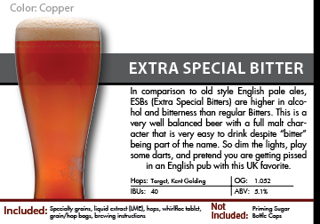 SCBS Salt City Bitter (ESB) Recipe Kit