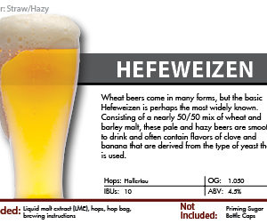 Hefeweizen Recipe Kit