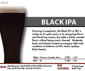 Black IPA Recipe Kit
