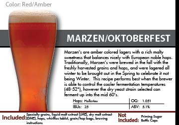 SCBS Marzen Recipe Kit