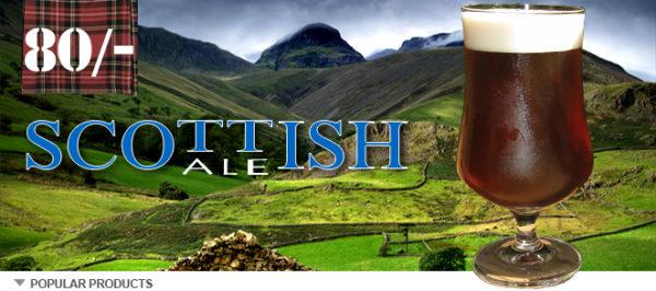 Scottish 80 shilling Recipe