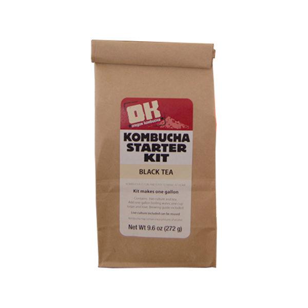 Oregon Kombucha Starter Kit -Black Tea