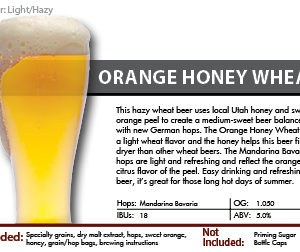 Orange Honey Wheat Recipe Kit