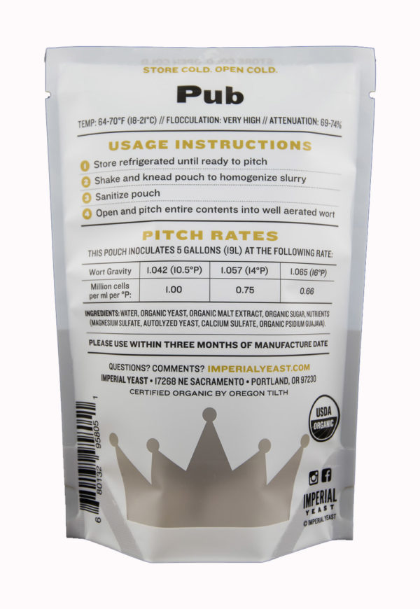 Pub - Imperial Yeast A09