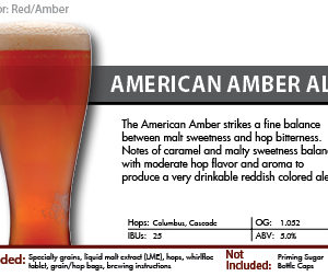 Amber Ale Recipe Kit