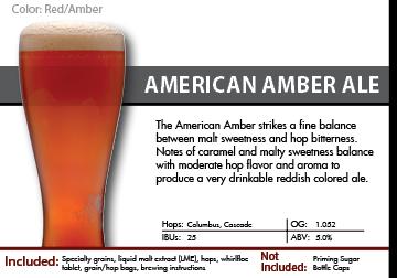 Amber Ale Recipe Kit