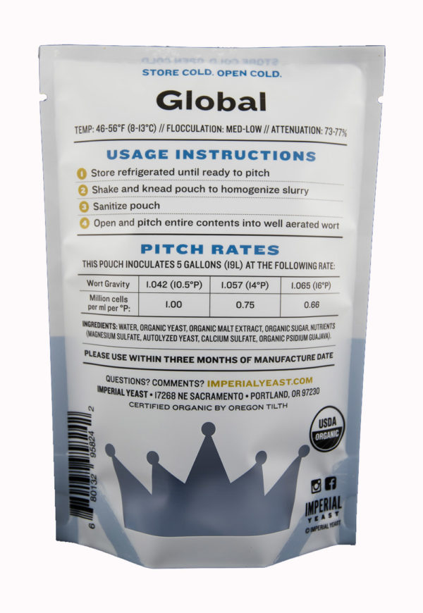 Global - Imperial Yeast L13