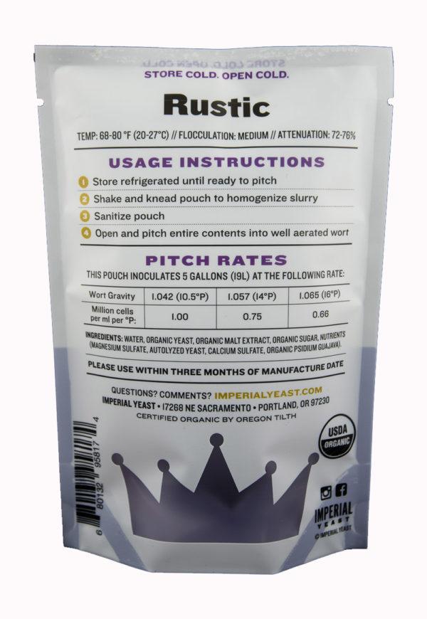 Rustic- Imperial Yeast B56