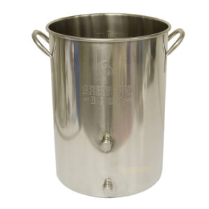 32 Quart Stainless Kettle w/ 2 Ports
