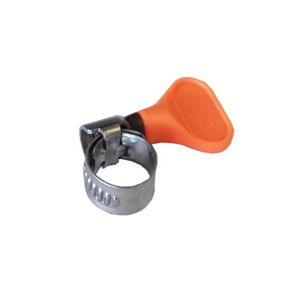 Easy Turn Hose Clamp - 5/8 (ORANGE)