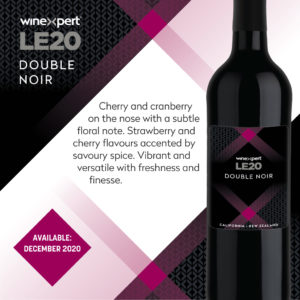 LE2020 Double Noir Wine Kit - DEC
