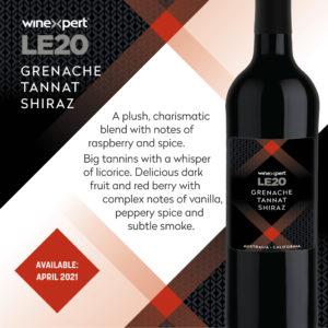 LE2020 Grenache Tannat Shiraz Wine Kit