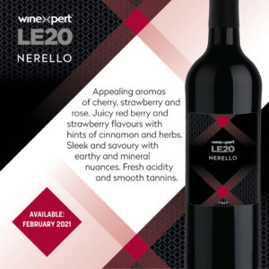 LE2020 Nerello Wine Kit - FEB