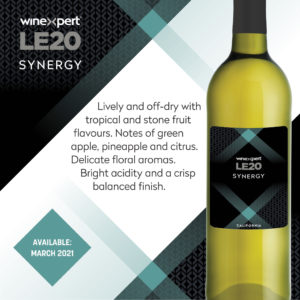LE2020 Synergy Wine Kit - MAR