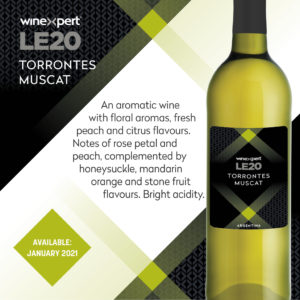 LE2020 Torrantes Muscat Wine Kit - JAN